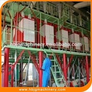 10~50TPD wheat flour milling machine, complete flour mill production line on sale