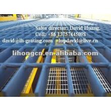 Panneau de revêtement de sol et plate-forme en acier