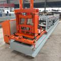 Profil en acier à grande vitesse de profil en acier de profil en acier de profil en métal de goulotte en métal de la forme C de profil en C formant la machine