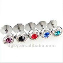 Custom falso bitola plugues, tampões de ouvido bitolas corpo jóias