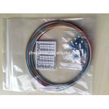 Connecteur LC 0.9mm 2.0mm 3.0mm monomode multimode fibre optique pigtail