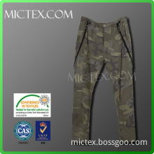 Suspender long camouflage cargo pants for men OEM OEKO-TEX,ISO9001