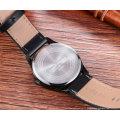 6865 Fashion montre homme à 42mm bracelet en cuir