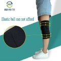 New Style Compression Breathable Knitted Knie-Ärmel