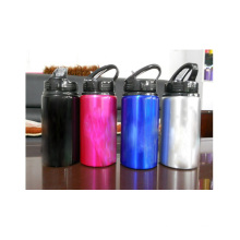 Hot Sale 750ml aluminum water bottle, custom portable water bottle