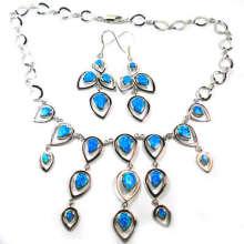 Jewelry Set-Opal Silver Jewelry (YS00228)
