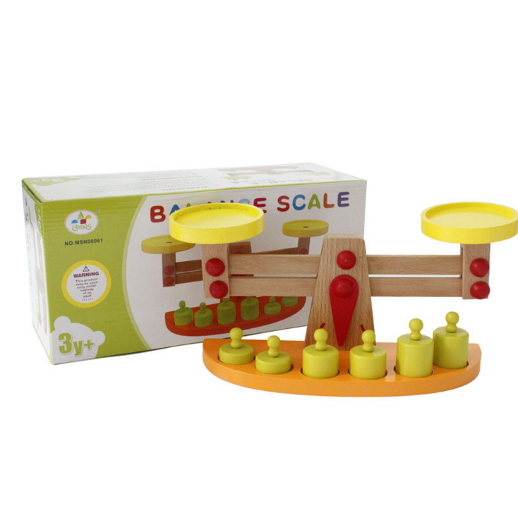 wooden balance toy