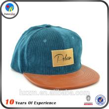 Высокое качество corduroy snapback hat