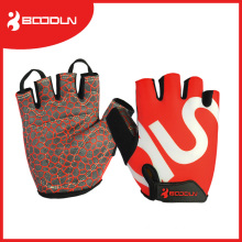 Silicon Printing Racing Cycling Half Finger Bike Glove