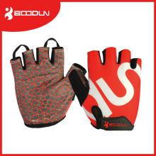 Мода унисекс половина палец спортивные перчатки для тренажерного зала и спорта