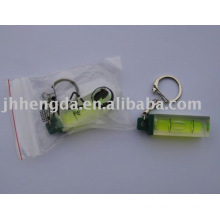 promotional keychain with level
