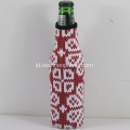 Eco-friendly Neoprene Zippered Bottle Cooler