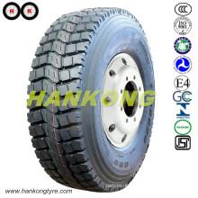 13r22.5 Pneus de mineração Rodas radiais Pneus de caminhões pesados