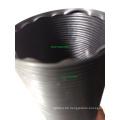 Plastic Flexible Pipe 3 '' ID 90cm Verlängerte Länge Black Universal
