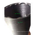 Plastic Flexible Pipe 3′′ ID 90cm Extended Length Black Universal