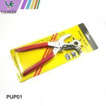 Alicate perfurador rotativo de 6 furos para cinto de couro