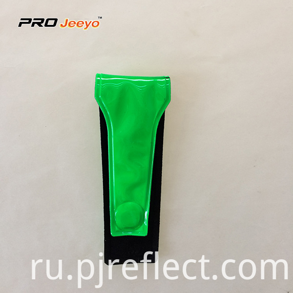 Reflective High Visibility Pvc Green Magnetic Clipcj Ccj004