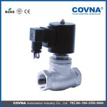 Ss304 agua caliente de alta temperatura Válvula solenoide de vapor