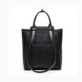 Zexin Elegant PU Shining Hand Bags OEM / ODM Moda Senhora para Womens Lady Handbag