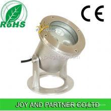 Lumière sous-marine de piscine d'acier inoxydable de 9W RVB LED (JP90034)