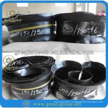 650 / 750-16 pneu mat et pneu intérieur