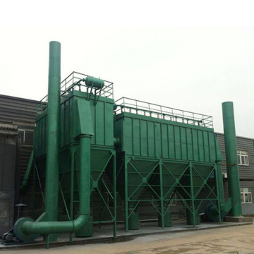 Industrial bag filter dust removal for chemical plant