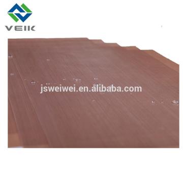 Tela de fibra de vidrio resistente al calor PTFE antiadherente