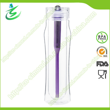 450ml Double Wall Tritan BPA Free Filter Water Bottle