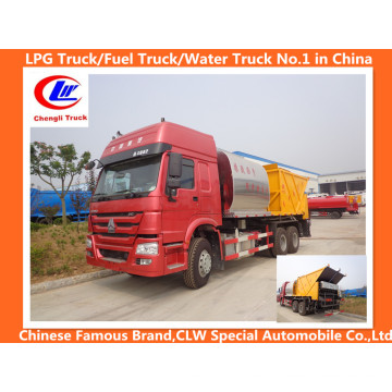 Sinotruk HOWO 6X4 Camión de mantenimiento de carretera