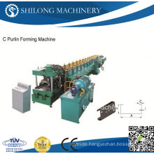 CE Approved C Purlin Roll Forming Machine