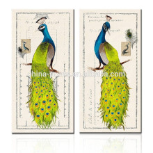 2015 New Modern Peacock Painting For Dropship