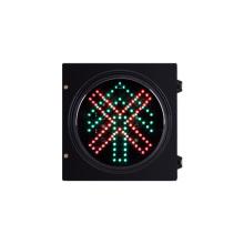 200mm 8 pulgadas vehículo LED semáforo pare y siga recto