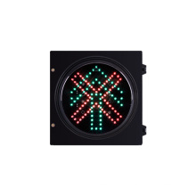 200mm 8 inch vehicle LED Traffic Light stop and go straight