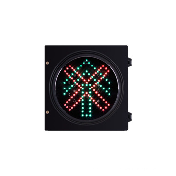 200mm 8 inch Semaphore stop and go straight traffic signal head