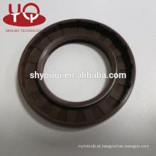 Vedação de óleo TC do eixo rotativo Silicone / FKM / NBR / VITON Tipo TC Vedações de óleo da caixa de engrenagens do motor de borracha