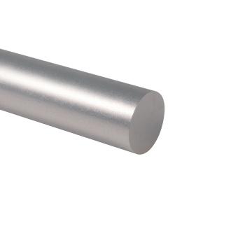 Tube en aluminium anodisé argenté Tube en aluminium poli