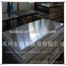 Chapa / placa de aluminio oa aa3004