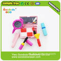 3D mode meisje make-up Shaped Eraser