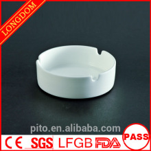 P&T ceramics factory porcelain white ashtray