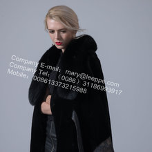 레이디 호주 Merino Shearling Cape Coat