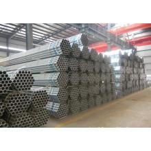 Tuyau d'acier pré-galvanisé avec revêtement de zinc