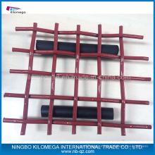 Malha de tela vermelha com boa qualidade para exportação