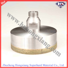 Thread Shank Sintered Diamond Core Drill Bit for Glass