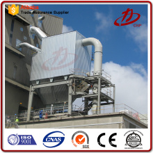 Air scrubber dust collection bag filter