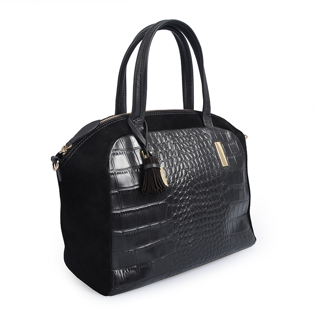 Large capacity women crocodile handbag leather designer hand bag lady tote bag