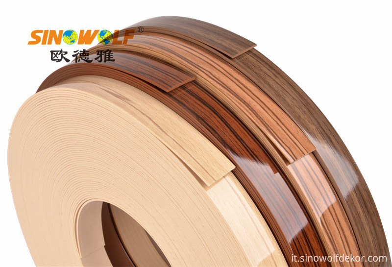 PVC High Gloss Edge Banding Series