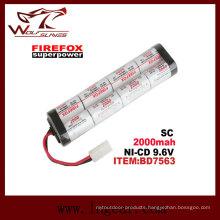 Firefox Sc2000mAh 9.6V Ni-MH Airsoft Aeg RC Mini Battery