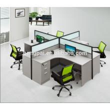 Cheap scratch resistant melamine workstation office desk 01