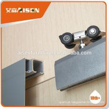 Fábrica de fabricação profissional diretamente perfil de porta deslizante de alumínio