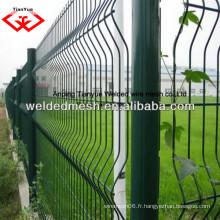 Fabrication de porcelaine Treillis de clôture / Panneau en treillis en treillis soudé Clôture / treillis de clôture Treillis de jardin en fil (ISO9001)
